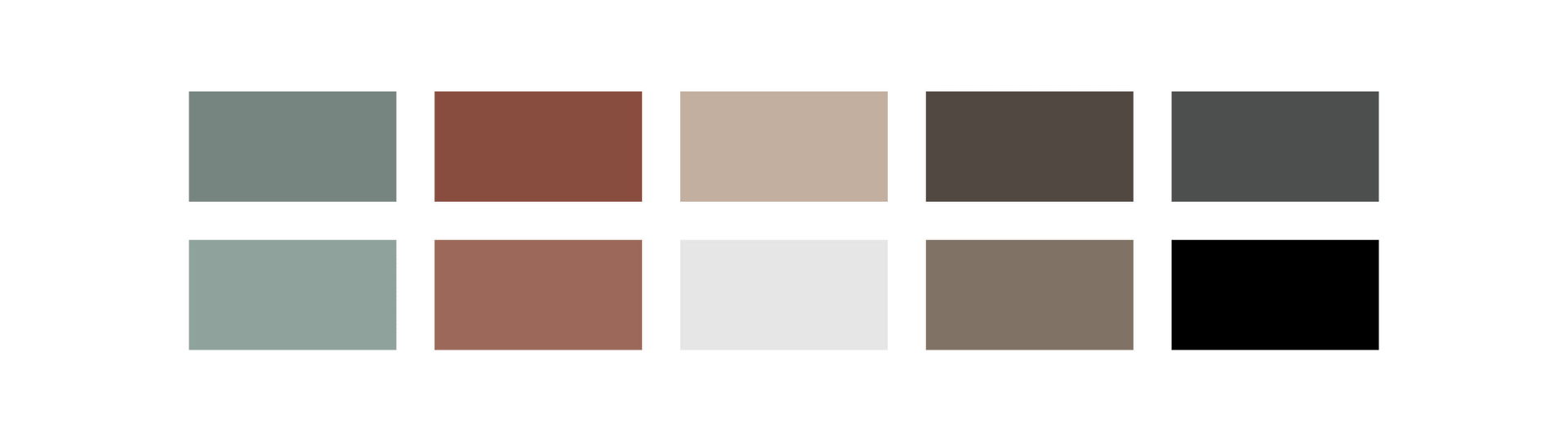 Home Brewed Photography color palette