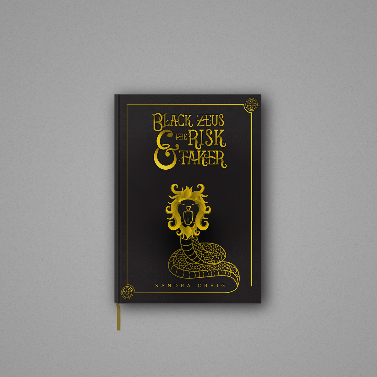 Black Zeus and the Risk Taker book mockup
