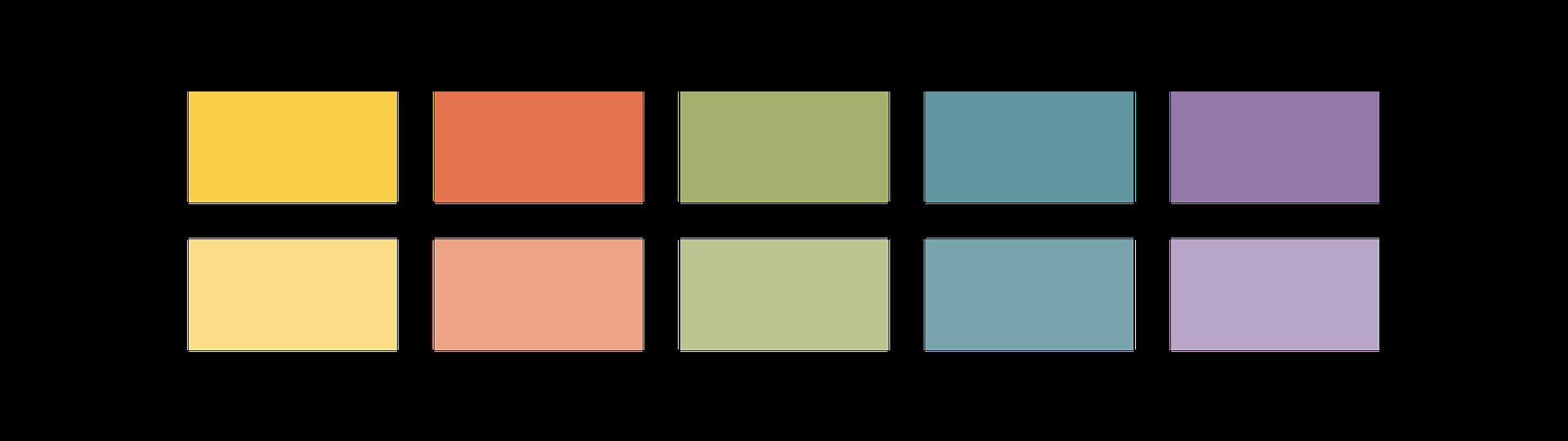 Imago Imaging color palette