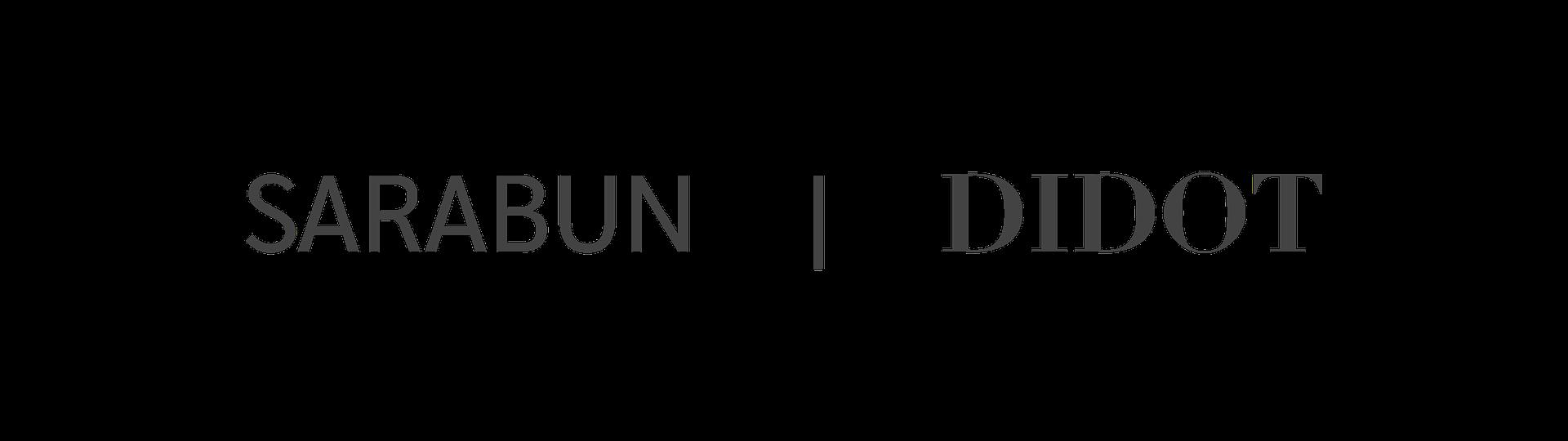 Type specimen, Sarabun and Didot fonts